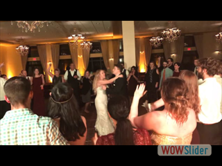 Adrianna & Stephen's Reception with Troy Entertainment
